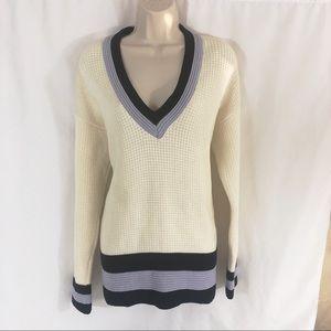 Collegiate ivory sweater